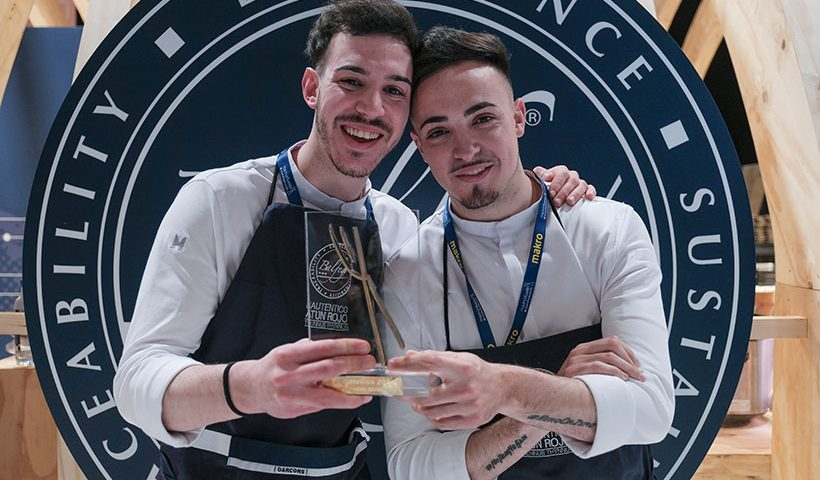 Javier Sanz y Juan Sahuquillo han hecho un triplete en Madrid Fusión | Foto: Óscar Chamorro