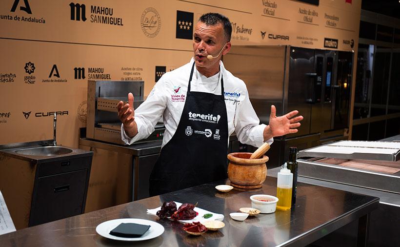 El chef Juan Carlos Clemente formó parte del jurado | Foto: Pablo Cobos