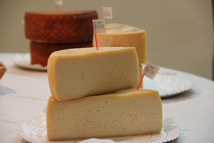 181 muestras de quesos se presentaron este año al concurso