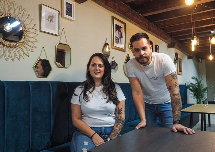 Laura Suárez e Isidro Vera | Foto: Sergio Méndez