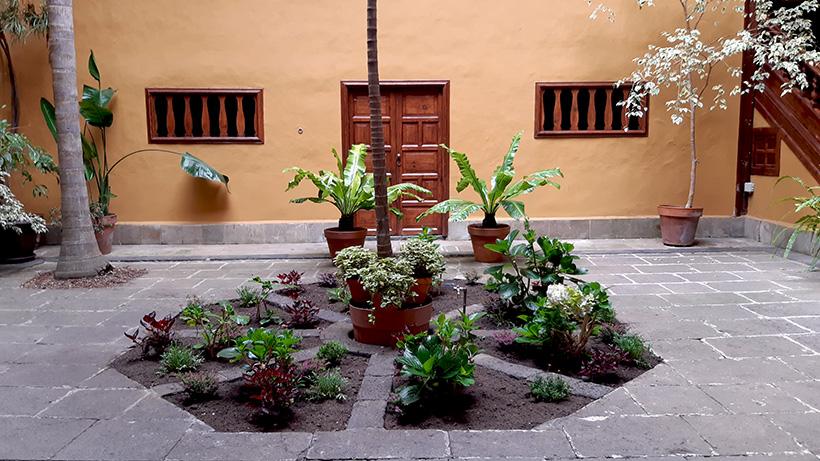 El patio de la casona del siglo XVIII será uno de los lugares preferidos de los clientes | Foto: José L. Conde