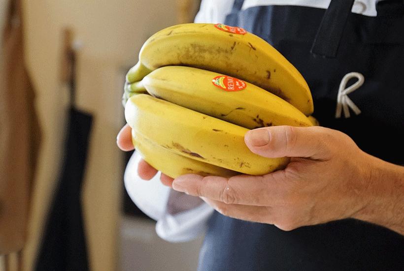 El plátano de Canarias es uno de los productos de la Gastronomía Sostenible de julio   Foto: BBVA