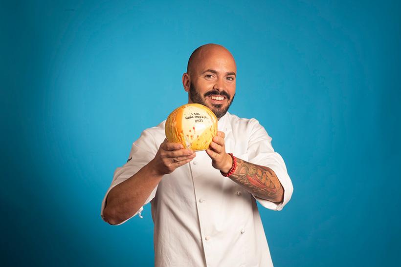Víctor Suárez, chef del restaurante Haydée