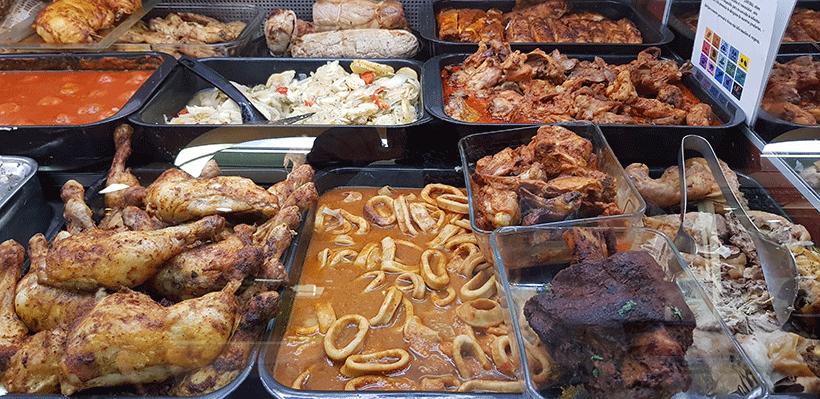 Un 43% de los encuestados opta por los platos preparados cuando no tiene tiempo para cocinar | Foto: José L. Conde