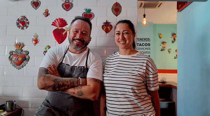 Armando Saldanha y Patricia Sáez | Foto: José L. Conde