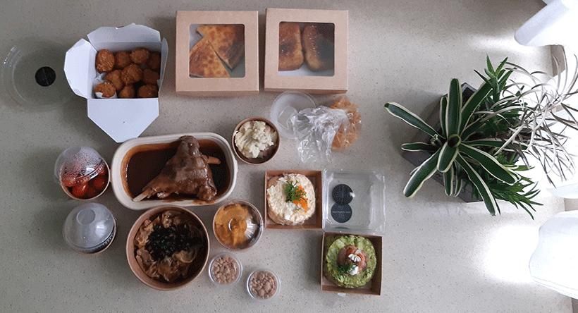 La comida a domicilio es una opción para los que no tienen tiempo de cocinar | Foto: José L. Conde